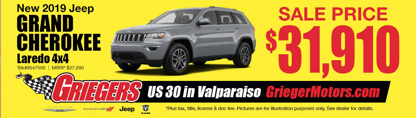 Chrysler, Dodge, Jeep, Ram Valparaiso | New & Used Car